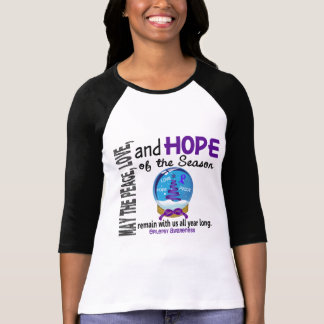 Christmas Holiday Snow Globe 1 Epilepsy T Shirt