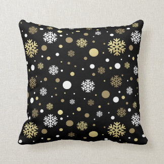 Christmas Holiday - Snowflake Pattern Cushion