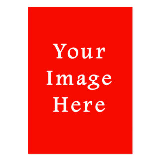 Christmas Holiday Spirit Red Background Color Pack Of Chubby Business Cards