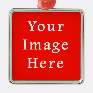 Christmas Holiday Spirit Red Background Color Christmas Ornament