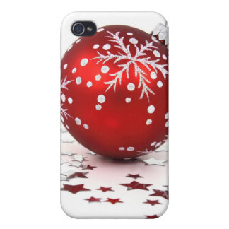 Christmas Holiday Stars iPhone 4/4S Cases