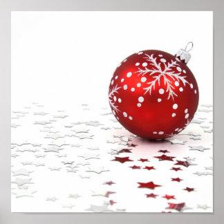 Christmas Holiday Stars Poster