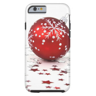 Christmas Holiday Stars Tough iPhone 6 Case