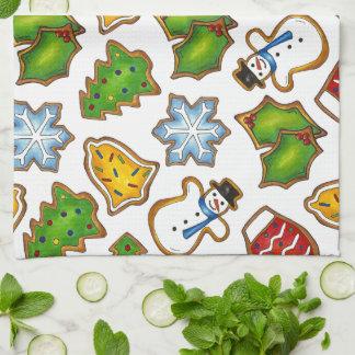 Christmas Holiday Sugar Cookie Xmas Cookies Towel