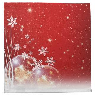 Christmas holidays decoration napkin