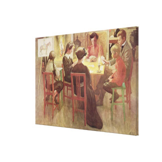 Christmas Holidays, pub. in 'Lasst Licht Hinin' (` Gallery Wrapped Canvas
