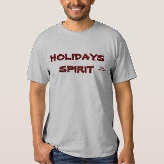 CHRISTMAS HOLIDAYS SPIRIT T-SHIRT ... - DGREY
