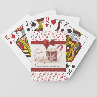 Christmas Holidys, Best Time of the Year Playing Cards