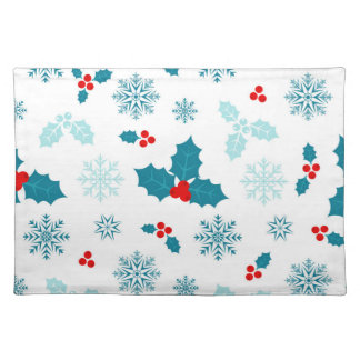 Christmas Holly Berries Placemat