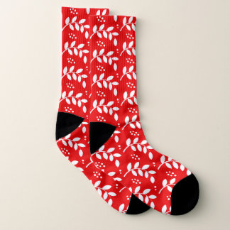 Christmas Holly Berry Custom Socks 1