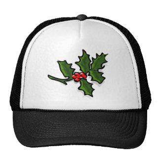 Christmas Holly Cap