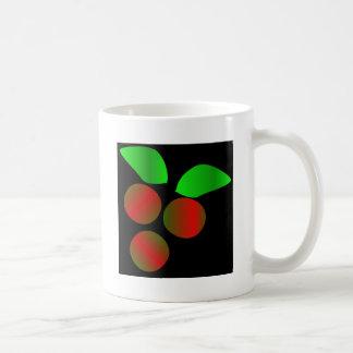 Christmas Holly Classic White Coffee Mug