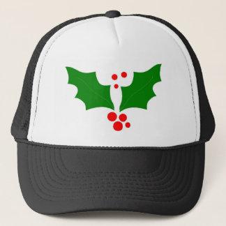 Christmas Holly Design Trucker Hat