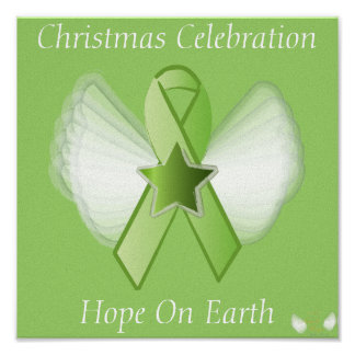 Christmas Hope On Earth-Customize Poster