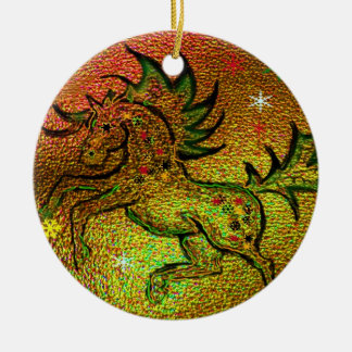 Christmas Horse - Ornament
