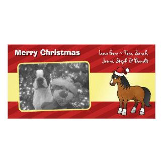 Christmas Horse Photo Card Template