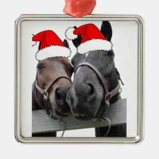 Christmas Horses Christmas Ornament