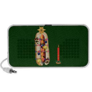 Christmas Hotdog iPhone Speaker