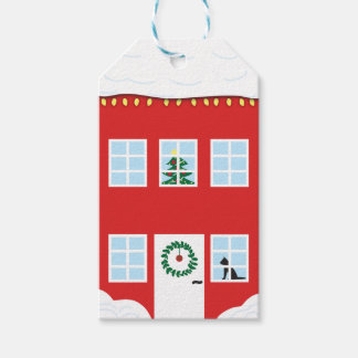 Christmas House Gift Tag