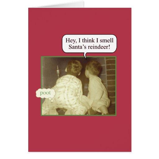 Christmas Humor Greeting Card