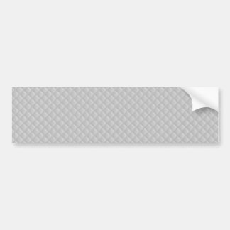 Christmas Icy White Quilt Pattern Bumper Stickers