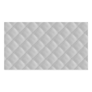 Christmas Icy White Quilt Pattern Pack Of Standard Business Cards