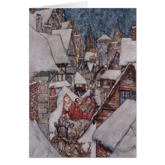 Christmas illustrations card