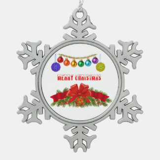 Christmas image for Pewter-Snowflake-Decoration Snowflake Pewter Christmas Ornament