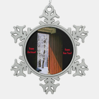Christmas image for Pewter Snowflake Ornament