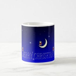 Christmas image on cup coffee mugs