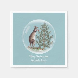 Christmas in Australia Disposable Napkins