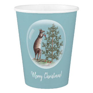 Christmas in Australia Paper Cup