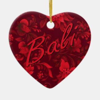 Christmas in Bali Batik 1 Christmas Ornament