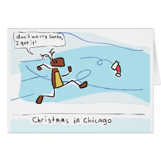 Christmas in Chicago Card