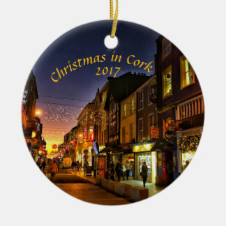 Christmas in Cork, Ireland Magnet- Oliver Plunkett Christmas Ornament