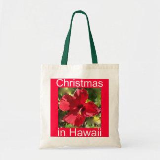 Christmas in  Hawaii Tote Bag