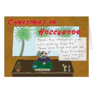 Christmas in Hollywood Card