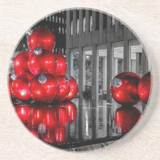 Christmas in New York City Photo Coaster