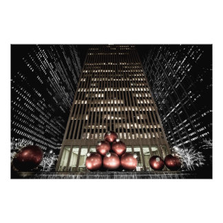Christmas in new york photograph