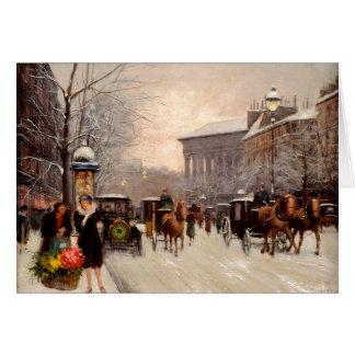 Christmas in Paris 1941 Card