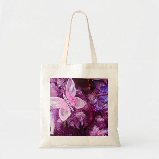 Christmas In pink And Purple Bags