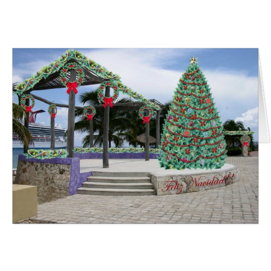 Christmas In Port Card