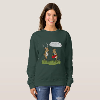 Christmas in the Bush | Funny Safari Jumper Sweatshirt