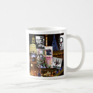 Christmas in the City, Knoxville, Tennessee Basic White Mug