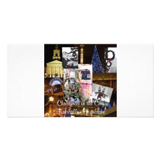 Christmas in the City Knoxville, Tennessee Photo Card