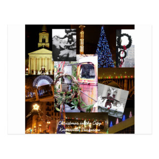 Christmas in the City Postcard- Knoxville, Tenness Postcard