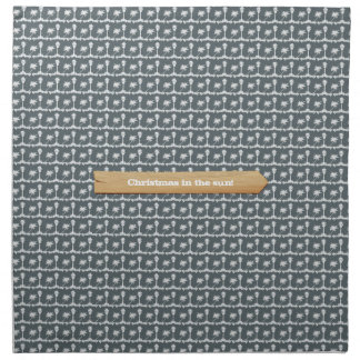 Christmas in the Sun Beach Christmas Napkin