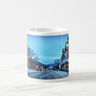 Christmas In The Village Of Suffern Design #2 Coffee Mug
