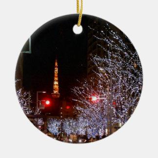 Christmas in Tokyo, Japan Christmas Ornament