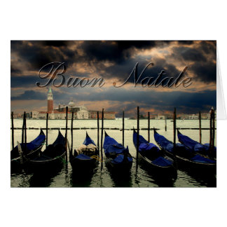 Christmas in Venice Greeting Card